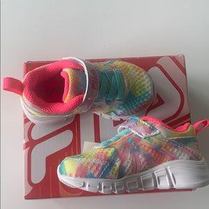 Baby fila running shoes